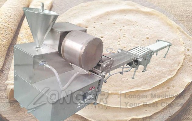 automatic lumpia wrapper machine