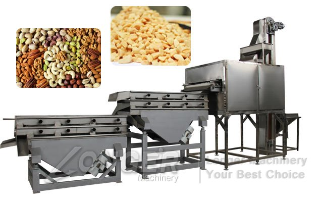 commercial dry fruit cutting machine