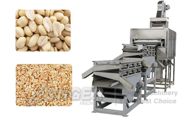 peanuts almond chopper machine