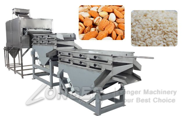 nuts chopping cutting machine