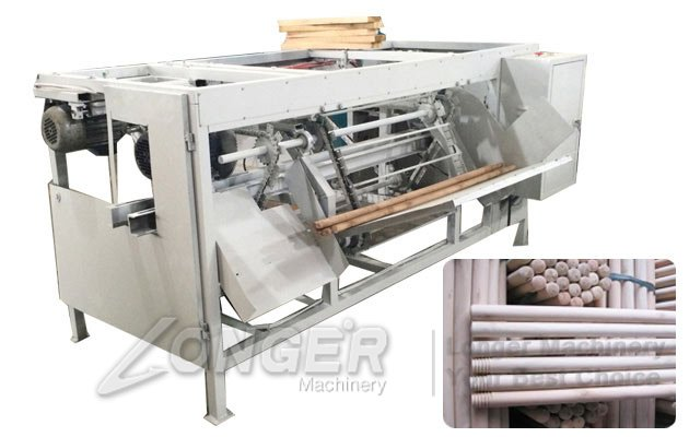 wood threads machine