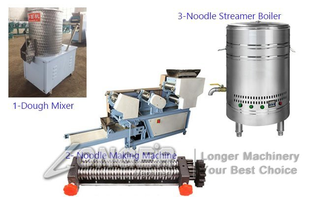 automatic egg noodles machine