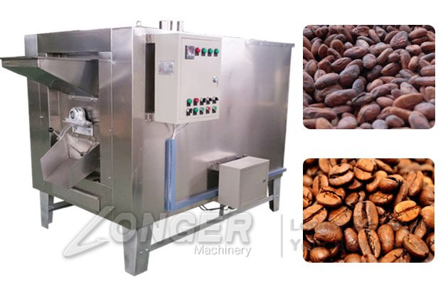 cocoa beans roaster