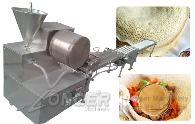injera samosa sheet forming machine