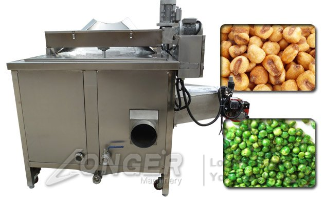 automatic stainless steel frying machine