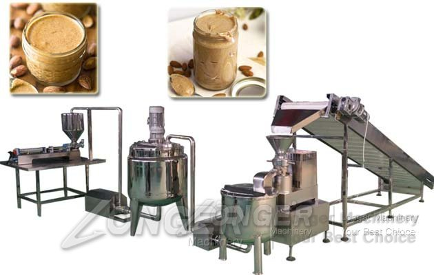 almond butter production line
