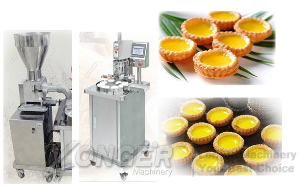 semi-automatic egg tart making machine