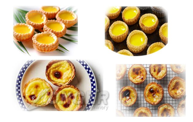 automatic egg tart machine
