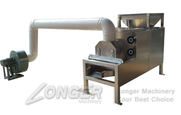 roasted cocoa beans peeling machine