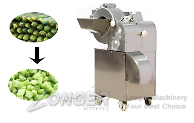 cucumber dicing machine