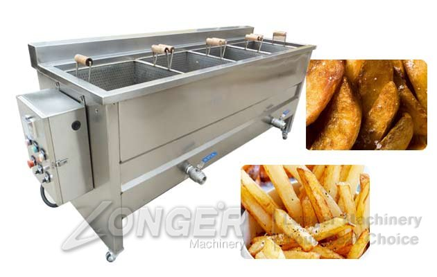 commercial frying machine