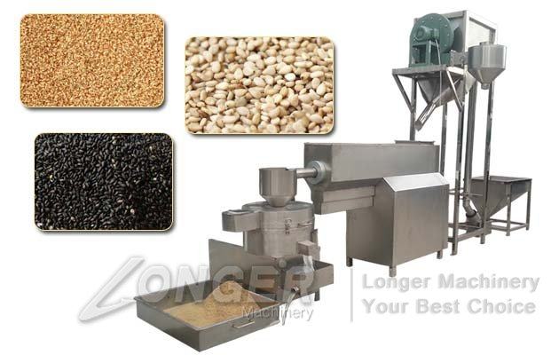 sesame seed washing drying machine