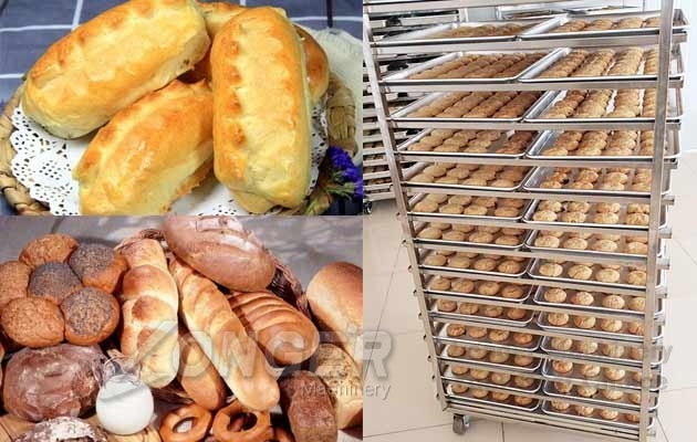 bread rotary oven price