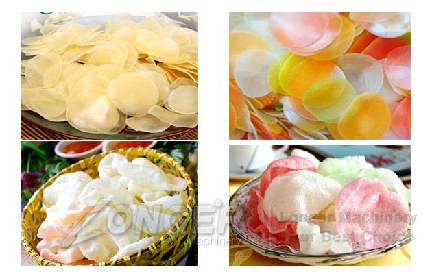 prawn crackers production line cost