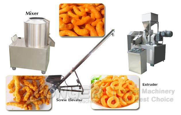 kurkure snacks processing equipment