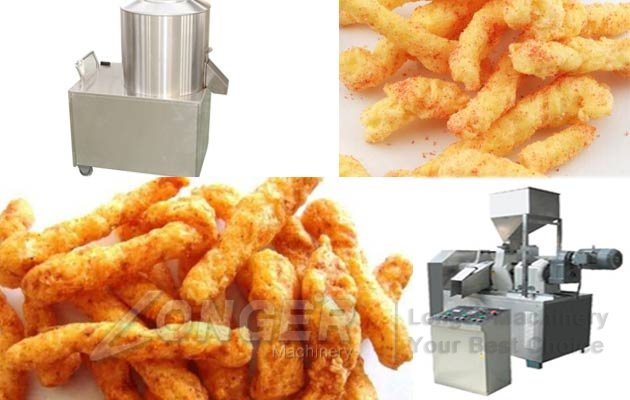 kurkure puffed food production line
