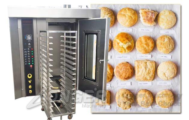 biscuit baking oven price