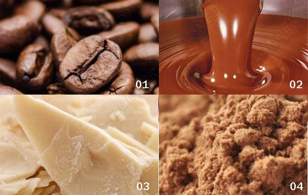 cocoa powder processing machines