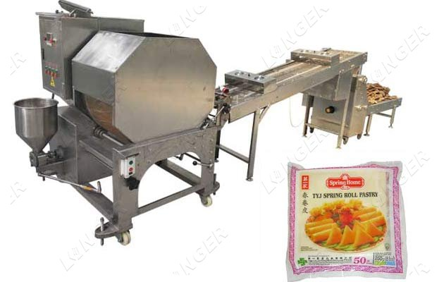lumpia wrapper maker machine