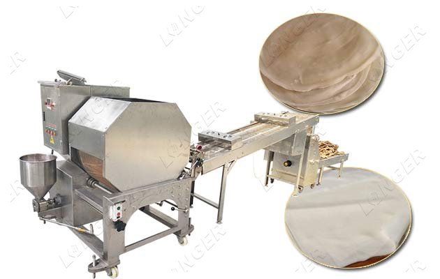 spring roll sheet machine price