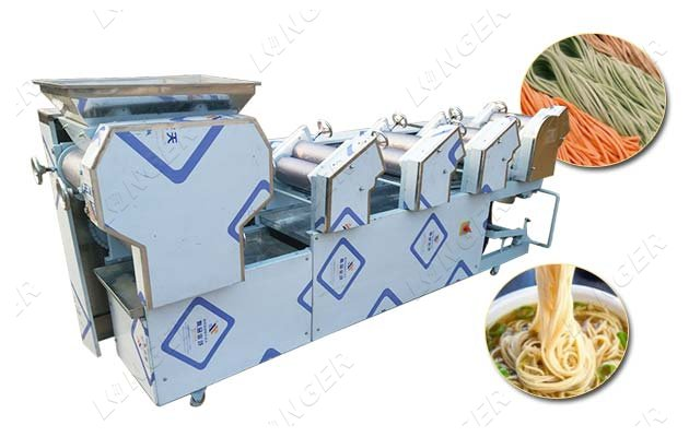 commercial 7 roller noodle machine