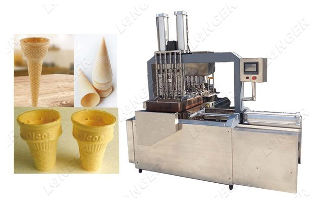automatic wafer cone making machine