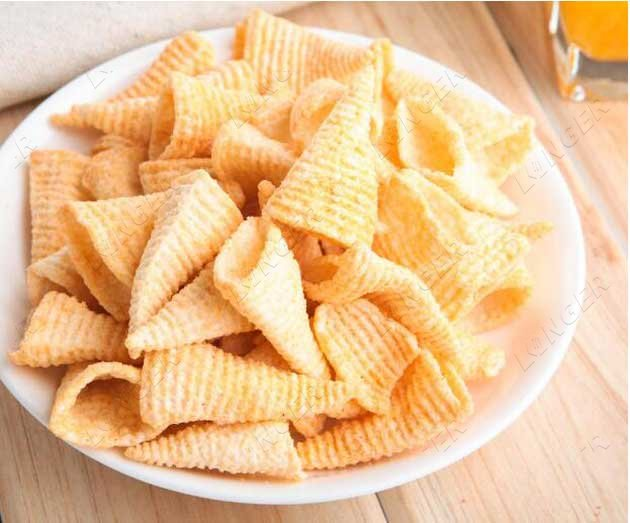 bugles snack production line