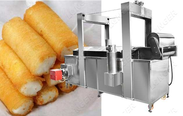 continuous frying machine price