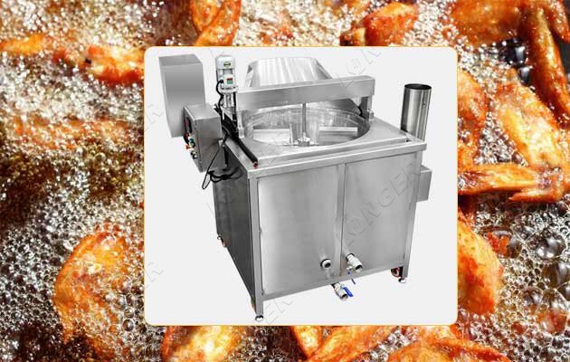 chips automatic frying machine