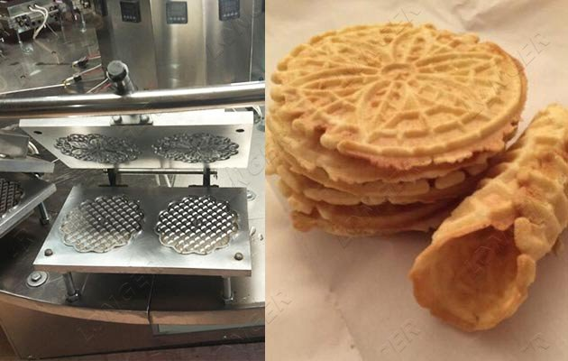 automatic pizzelle making machine