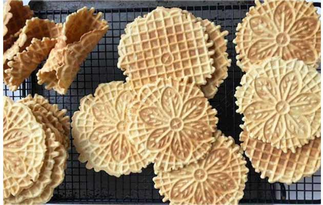 pizzelle cookie making machine