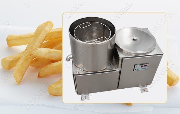 snack food oil removing machine