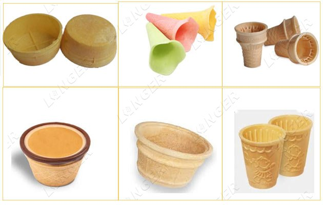 edible wafer coffee cups machine