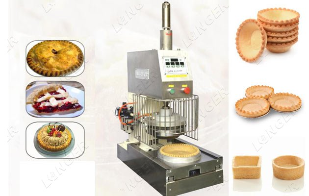 pie tart shells making machine