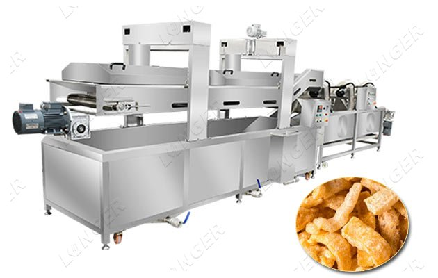pork skin processing equipment
