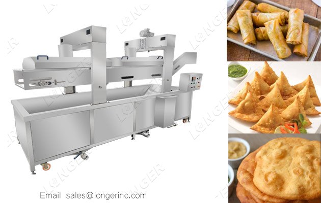 pastry snack frying machine