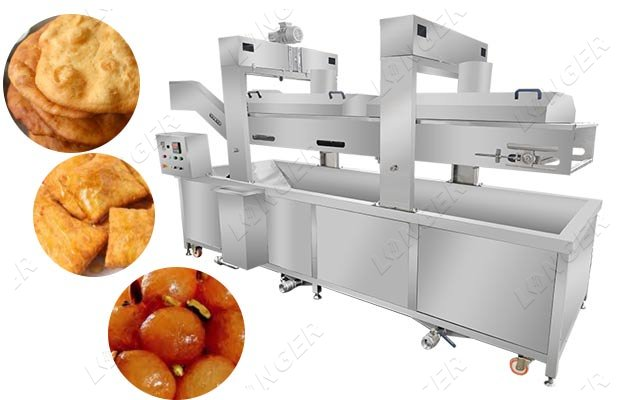 pastry snack frying machine supplier