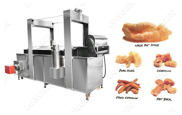 pork rinds continuous fryer