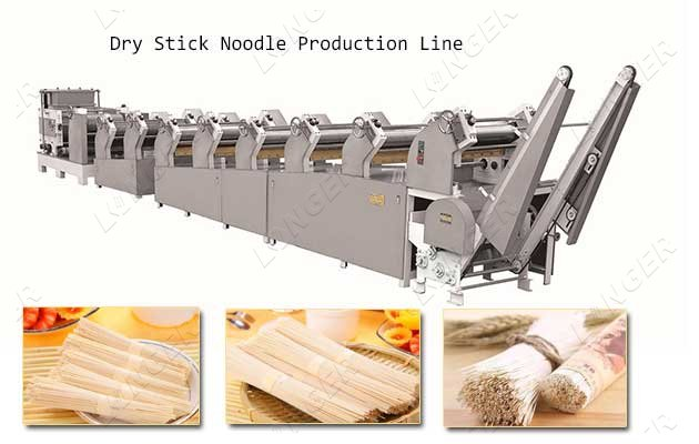dry stick noodle production line