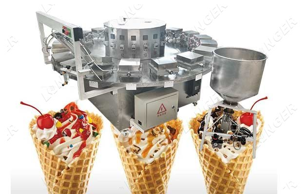 biscuit cone making machine
