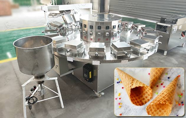 semi-automatic cone making machine price