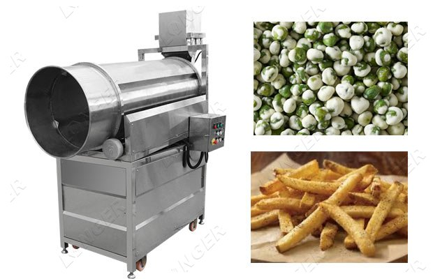 seasoned chips making machine