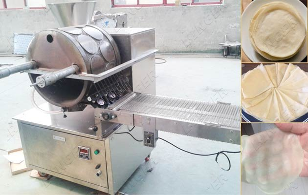 commercial lumpia wrapper machine price