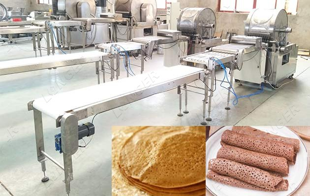 commercial injera baking machine