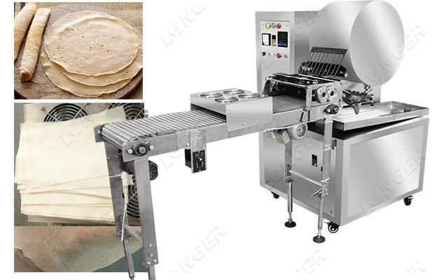 automatic injera production line
