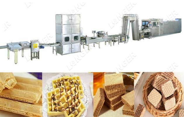 automatic wafer biscuit production line