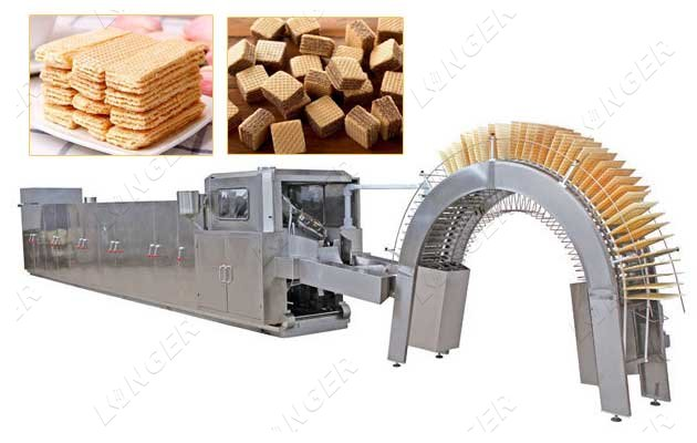 industrial wafer making machine