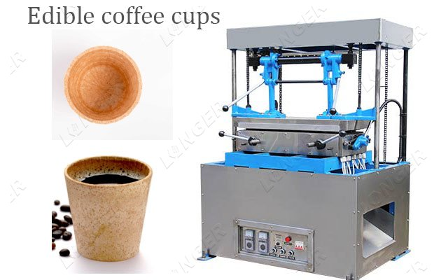 edible coffee cup making machine