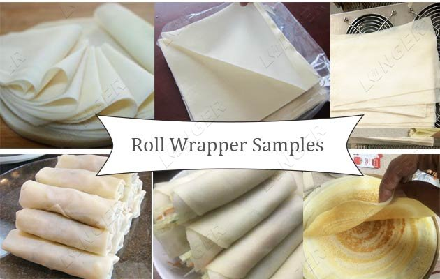 roll wrapp making machine supplier